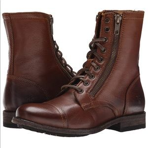 Frye Tyler Lace Up Boot (Size 6)